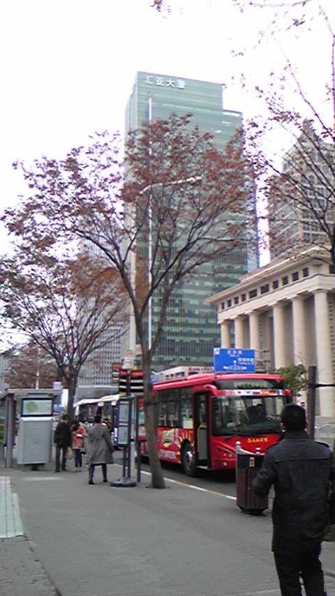 上海バス停